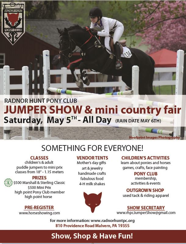 Jumper Show Flyer 2018 Updated