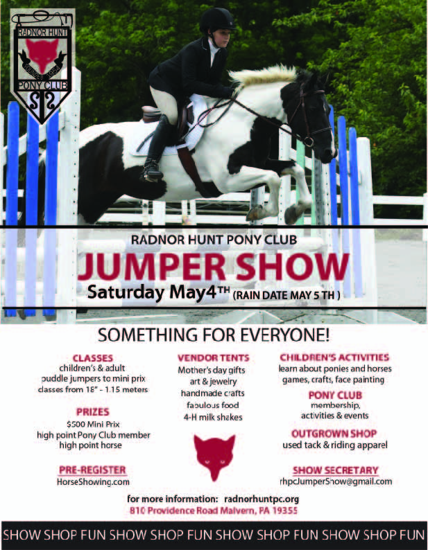 Jumper Show Flyer ella 2019